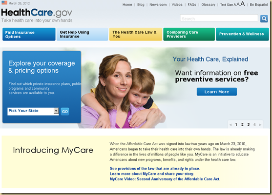 CLICK HERE TO GO TO HEALTHCARE.GOV