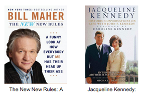 Bill Maher the NEW New Rules, Jacqueline Kennedy