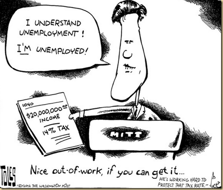 Romney Unemployed EYEONCITRUS.COM. Understands unemployment