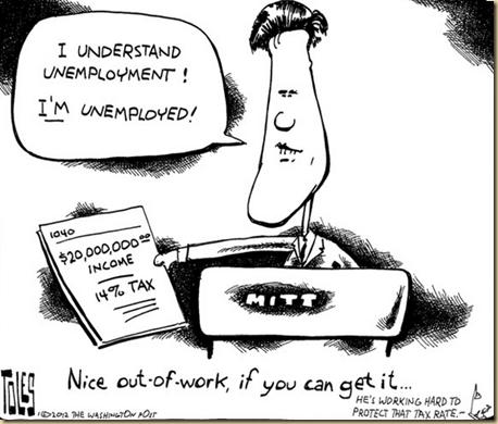 Romney Unemployed EYEONCITRUS.COM. Understands unemployment