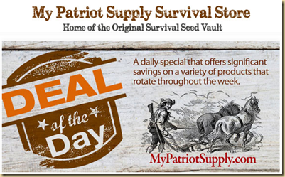 DEAL OF THE DAY SURVIVAL SUPPLIES  EYEONCITRUS.COM