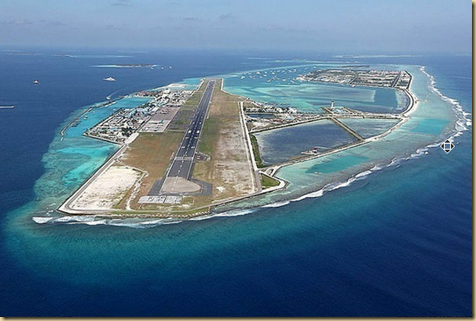 Airport in the Maldives  EYEONCITRUS.COM