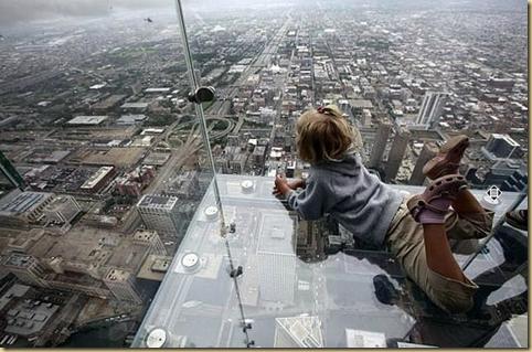 Balcony of floor 103 in Chicago EYEONCITRUS.COM