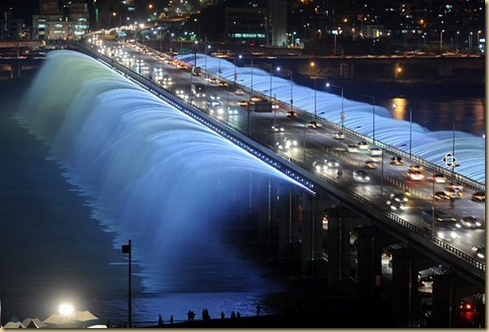 Banpo Bridge in Seoul, South Korea EYEONCITRUS.COM