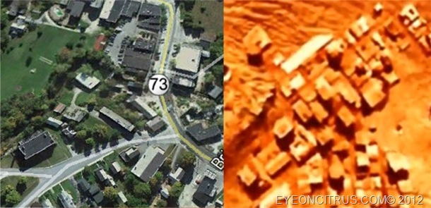 Brandon Vermont and a Town on Mars