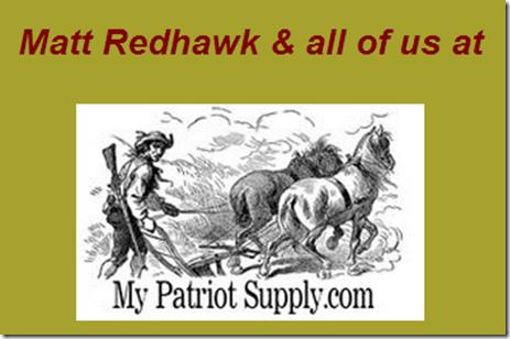 My Patriot Supply     EYEONCITRUS.COM