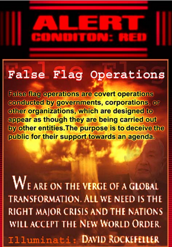 Alert FALSE FLAG operations create Fear Factor   EYEONCITRUS.COM