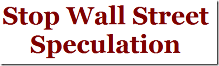 Stop Wall Street Speculation     EYEONCITRUS.COM