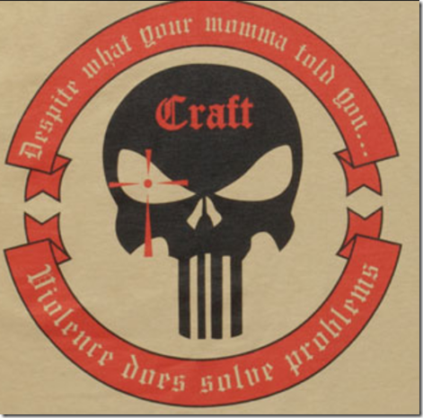 Craft Mecenary Group founded by Chris Kyle in Boston that day--Violence Does Solve Problems--their motto   EYEONCITRUS.COM