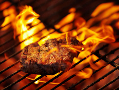 Steak on the Grill, hidden dangers  EYEONCITRUS.COM