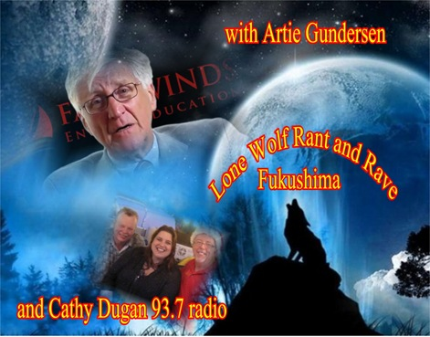 Arnie Gundersen and Lone Wolf talk Fukushima Nuclear Disaster