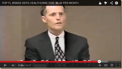 Florida Governor Rick Scott at his deposition in the fraud case the Federal Government brought to court in the nineties!     EYEONCITRUS.COM LONE WOLF PRESENTATION