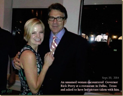 Anti People-especially women Gov Rick Perry of Texas
