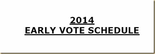 EARLY VOTING SCHEDULE CITRUS COUNTY FL 2014    eyeoncitrus.com