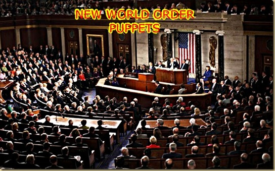 PUPPETS REPRESENTING THE NEW WORLD ORDER