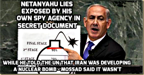 Netanyahu Lies proved by Mossad whistleblowers