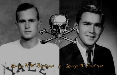 SKULL AND BONES BUSHS nothing funny,lackeys for puppet masters,bush senior involved jfk murder,george jr involved in 911, terrorism of nwo