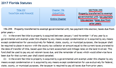 "FLORIDA STATUTE 196.295 THE MEADOWCREST COMPLEX IS EXEMPT FROM TAXES SLUSH FUNDING CLICK TO ENLARGE:                Mr. Gregory said, ""If I had been appraiser when Les Cook wanted to go to Tyler Technologies for the Citrus County Property Appraiser's office online presence I would have gone online to see what kind of reputation the company had. Well, I wasn't the Property Appraiser and he didn't, but as one of the employees who would be working with the new system I thought it important to investigate for myself what the new system would have in store for us."" And this is what he discovered: Nassau County, New York had been using Tyler Technologies for 5 years and the  Nassau County, New York had all kinds of problems with them, not the least of which, was the fact the company's system had been taxing the buildings of county government for property taxes! Nassau County is located immediately east of New York City. The county, together with Suffolk County to its immediate east, are generally referred to as ""Long Island"". Two cities, three towns, 64 incorporated villages, and more than 60 unincorporated hamlets are located within the county. At the time Mr. Gregory did his investigation into Tyler Technologies, he said ""this information was readily available, over the ensuing years Tyler Technologies had worked out it problems with Nassau County, New York and now has a 20 to 30 million dollar contract with the county for its online presence."" Mr. Gregory also stated, ""it's not the end of the story and he had given this information directly to Gerry Mulligan who doesn't want anything to do with it, least of all to publish it in the Chronicle. Les Cook did this after he had just won his own term, having fulfilled the remainder of Geoffrey Green's term and he came to the Meadowcrest office in Crystal River, calling all the staff into the conference room and told them that he no longer wanted to use the ""MARS"" program that had been used since the Administration of Ron Schlutz. Gregory said, ""Cook told everyone in the conference room he was tired of giving Schlutz's relatives the license fee for the  program every year and that's how the office got involved with Tyler Technologies."" Mr. Gregory went on to say the crux of the manner was the fact that the Meadowcrest building acquire in 2014 for 3.3 million dollars in 2019 the Property Appraiser's Office had it valued at 2.5 million, loosing $800,00 in fair market value in the intervening years and was and is still being assessed for property taxes!"" ""Buildings owned by the County are not taxed by the County, any commercial businesses in the complex would pay Tangible Taxes to the County. So where is the money going starting with the $39,000.00 from the 2014 Tax Bill that the County paid to itself? Before the Complex was bought the Citrus County Board of County Commissioners and the owners of the property, GULF TO LAKES ASSOCIATES LTD were signing off on permit for a 1.5 million dollar remodel together. And Citrus County was left having to pay this bill, along with the 3.3 million purchase price. Mr. Gregory stated and further said, ""When I met with Angela Vick, Citrus County Clerk of Courts and Comptroller, during my run against County Commissioner Ron Kitchen, Ms. Vick admitted the County was at wits end in trying to find a way to pay for all the manners related to Meadowcrest, then she said, Thank God, we finally figured out a way to pay for it."" Mr. Gregory stated, ""According to the Florida Statute sited on the 2014 Citrus County Tax which the previous owner of the property received but had sold the property to Citrus County now between January 1 and November 1 of that year by a governmental unit exempt under this chapter for any means except condemnation for use exclusively for federal, state, county, or municipal purposes, the taxpayer shall be required to place in escrow with the county tax collector an amount equal to the current taxes prorated to the date of transfer of title, based upon the current assessment and millage rates, on the land involved. This fund shall be use to pay any ad valorem taxes due, and the remainder of taxes which would otherwise have been due for that current year shall stand canceled."" ""The bottom line is Citrus County SHOULD NOT BE TAXING it's own buildings!"" #TAMPABAY.COM #NYTIMES.COM #TWITTER.COM/NYDailyNews #tampabay.com #nytimes.com #twitter.com/NYDailyNews #CitrusCountySlushFund #DavidGregory #CitrusCountyChronicle #GerryMulliganPublisher #nydailynews.com #nypost.com #MoreLongIsland #SuffolkNassau #syracuse.com"