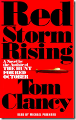 Listen to a FREE SAMPLE of the audio book of Red Storm Rising the Tom Clancy 1992 novel on a country running low on oil and how it plotted to take steps to acquire the black gold-CIA imput through project mockingbird